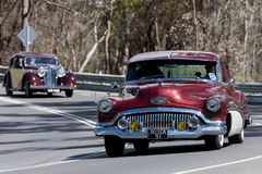 1951年别克超级轿车 免版税库存照片