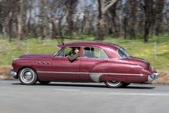 1949年别克超级8轿车 免版税库存照片