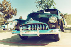 1947年别克超级Sedanette经典之作汽车 免版税库存照片