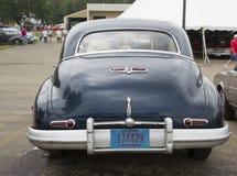 1947年别克50系列汽车背面图 库存照片