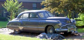 1950年别克Dyna流程超级古色古香的车 免版税库存照片