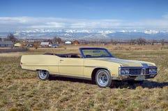 1970年别克Electra 225敞篷车 免版税图库摄影