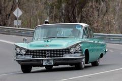 1959年别克Lesabre轿车 库存图片