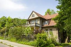 别墅名为Znicz在扎科帕内 库存图片