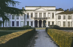 别墅在蒙扎公园 免版税库存照片