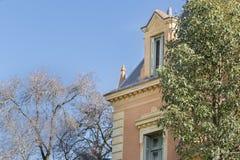别墅奥坎波在圣Isidro布宜诺斯艾利斯 图库摄影