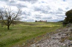 别墅帕兹宫殿,在萨利塞斯昆卡省, 库存照片