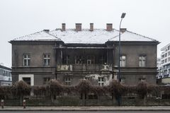 别墅欣德勒在克拉科夫-波兰 免版税库存照片
