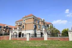 别墅的建筑 免版税图库摄影