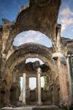别墅艾德里安娜, Tivoli 罗马 意大利 免版税图库摄影