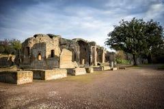 别墅艾德里安娜, Tivoli 罗马 意大利 免版税库存照片