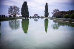别墅艾德里安娜, Tivoli 罗马 意大利 图库摄影