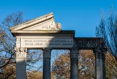别墅Borghese,罗马,意大利 库存照片