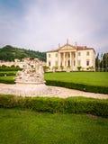 别墅Cordellina隆巴迪,修造在18世纪 库存图片