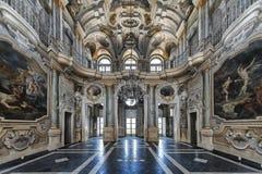 别墅della雷日纳在都灵,意大利 免版税图库摄影