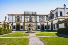 别墅Duodo蒙塞利切帕多瓦Colli Euganei地区 库存图片