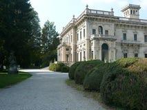 别墅Erba,切尔诺比奥,意大利 图库摄影