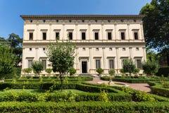 别墅Farnesina大厦在Trastavete区在市罗马,意大利 库存照片