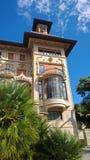 别墅Grock在意大利 库存照片