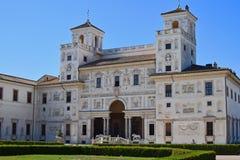 别墅Medici在罗马 免版税库存图片