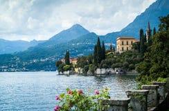 从别墅Monastero的看法 免版税库存照片