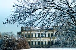 别墅Reale,蒙扎,意大利 免版税库存图片