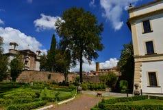 别墅Savorelli在苏特里 免版税库存照片