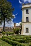 别墅Savorelli在苏特里 库存照片