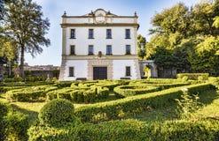 别墅Savorelli在苏特里s公园-维泰博省的苏特里村庄 免版税库存照片