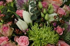 别致的花富有的花束  库存图片