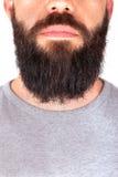 刮胡须人 库存照片