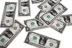 到处货币 免版税库存照片