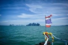 到披披岛在泰国 库存照片