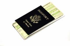 到旅行的票 库存图片