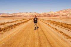 到无处的旅途 图库摄影