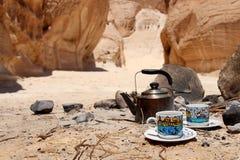 到沙漠的旅行 免版税库存图片