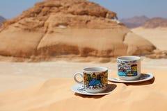 到沙漠的旅行 免版税库存照片