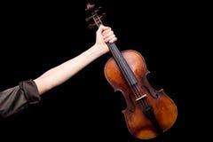 直到胜利我勇敢的小提琴 免版税库存图片