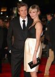 Colin Firth,卡梅伦・戴兹 免版税库存图片