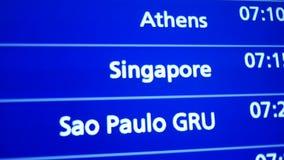到达在旅行的新加坡 影视素材