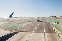 到达的威基基机场 库存照片
