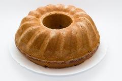 被烘烤的蛋糕 库存图片