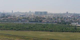 到Hiriya (阿里埃勒・沙龙公园)的参观 免版税图库摄影