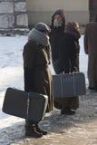 制定扣留犹太波兰关于 免版税库存图片