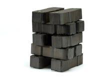 制煤砖 库存图片