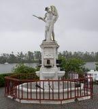制糖业纪念碑的先驱在昆士兰澳大利亚1959年 库存图片