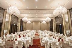 制表事件党或婚礼庆祝的设置 图库摄影