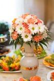 制表婚礼或晚餐事件的设置 库存照片