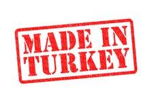 制造在土耳其 库存例证
