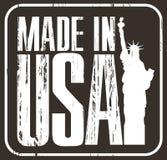 制造在美国 免版税库存照片